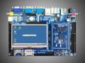 友坚恒天UT2416BV02开发板+4.3寸LCD ARM926EJ 533M【北航博士店
