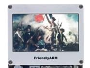 友善之臂Tiny6410 Mini 6410触摸屏LCD N43 NEC4.3寸【北航博士店