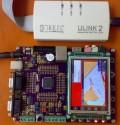 超值ARM Cortex-M3开发板 3.2寸触摸屏 ULINK2带MP3【北航博士店
