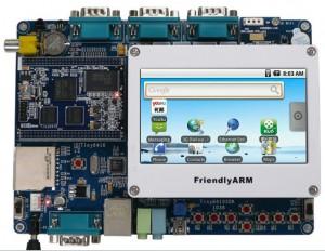 友善之臂Tiny6410开发板+4.3寸触摸屏!ARM11 S3C6410【北航博士店