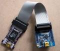 LPC2103核心模块 最小系统 ULINK MINI仿真器USB JTAG 北航博士店