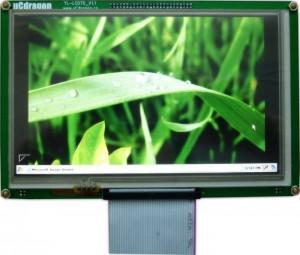 TFT真彩屏YL-LCD70_V1.1 800*480 LED 群创AT070TN83【北航博士店