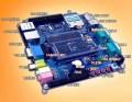 2010版TE2440-II开发板 USB转串口 S3C2440 34DVD选【北航博士店