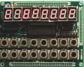 E-PLAY-7279 2x8键盘 适用于E-PLAY-SOPC开发板【北航博士店