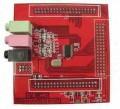 音频输入输出扩展板 可配ALTERA和XILINX红色飓风二代 北航博士店