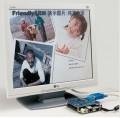 256M友善mini2440开发板 LCD2VGA模块VGA 34DVD选【北航博士店