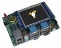 天漠SBC9261开发板7寸触屏AT91SAM9261S WinCE Linux【北航博士店