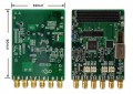 基于FMC接口2路AD DA子卡模块AD9777针对xilinx开发板16位160Msps