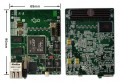 基于FMC接口的DSP TMS320C6455子卡 软件无线电 图像处xilinx兼容