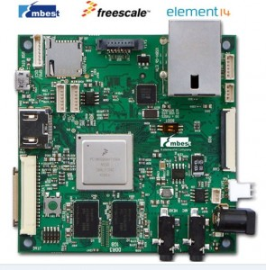 ARM Cortex-A9飞思卡尔Freescale四核SABER Lite评估板i.MX 6Quad
